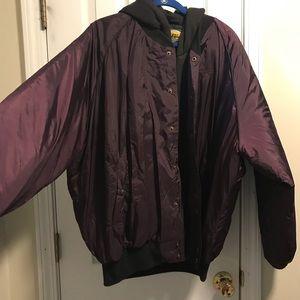 Men's Cabela hooded jacket full zip